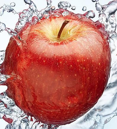 カミカシャンプーの腐らないリンゴの画像