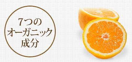 オレンジシャンプーの7つのオーガニック成分の画像