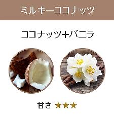 アンククロスシャンプーのミルキーココナッツの香りの画像